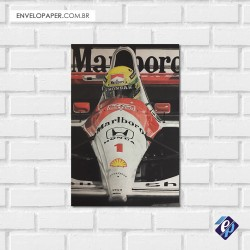 Placa Decorativa - ayrton senna