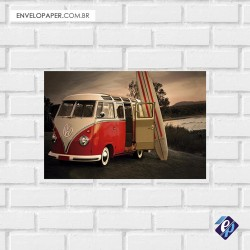 Placa Decorativa - kombi