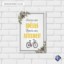 Placa Decorativa - atitudes