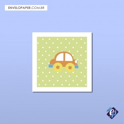 Placa Decorativa 30x30cm - carro