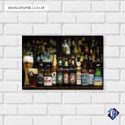 Placa Decorativa - cervejas 2