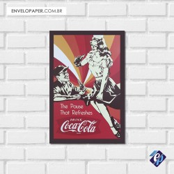 Placa Decorativa - coca cola retrô 4