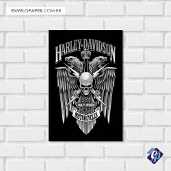 Placa Decorativa - harley davidson 4