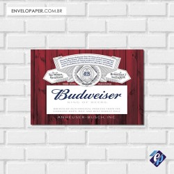 Placa Decorativa - budwaiser 3