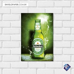 Placa Decorativa - heineken