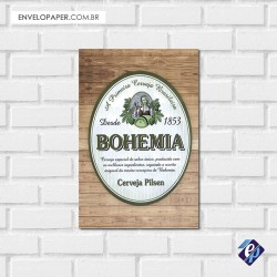 Placa Decorativa - bohemia