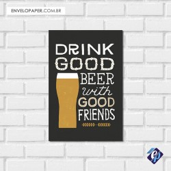 Placa Decorativa - beer 2