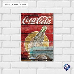Placa Decorativa - coca cola retrô 6
