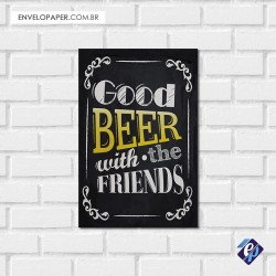 Placa Decorativa - beer 5