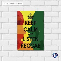 Placa Decorativa - reggae