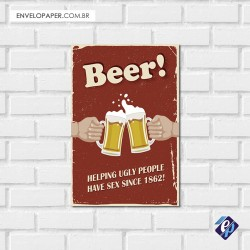 Placa Decorativa - beer 7