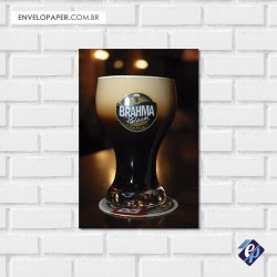 Placa Decorativa - brahma black