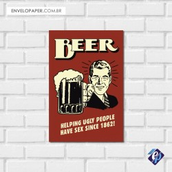 Placa Decorativa - beer 6