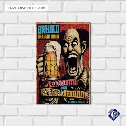 Placa Decorativa - beer