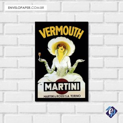 Placa Decorativa - martine
