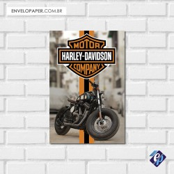 Placa Decorativa - harley davidson 5