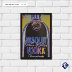Placa Decorativa - absolut